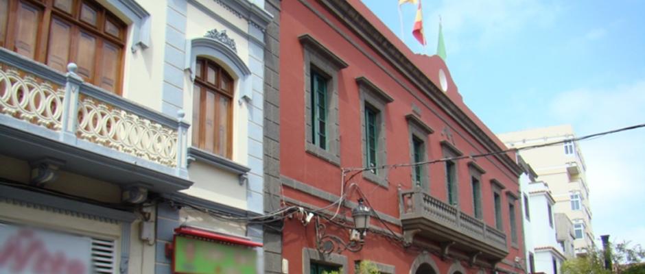 Oficinas municipales del Ayuntamiento de Gáldar.