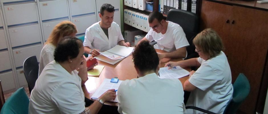 Imagen de archivo del equipo técnico del Instituto Municipal de Toxicomanías.