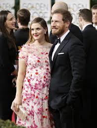 Drew Barrymore y su marido.