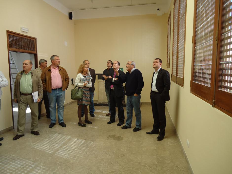 Imagen de la visita al museo.
