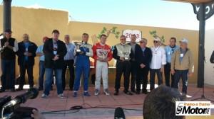 Ceremonia de entrega de trofeos. Foto: Pedro Quintana.