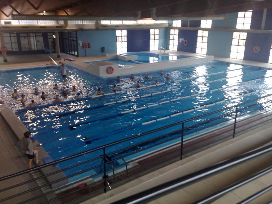 Instalaciones de las piscinas municipales, en la Ciudad Deportiva de San Isidro.