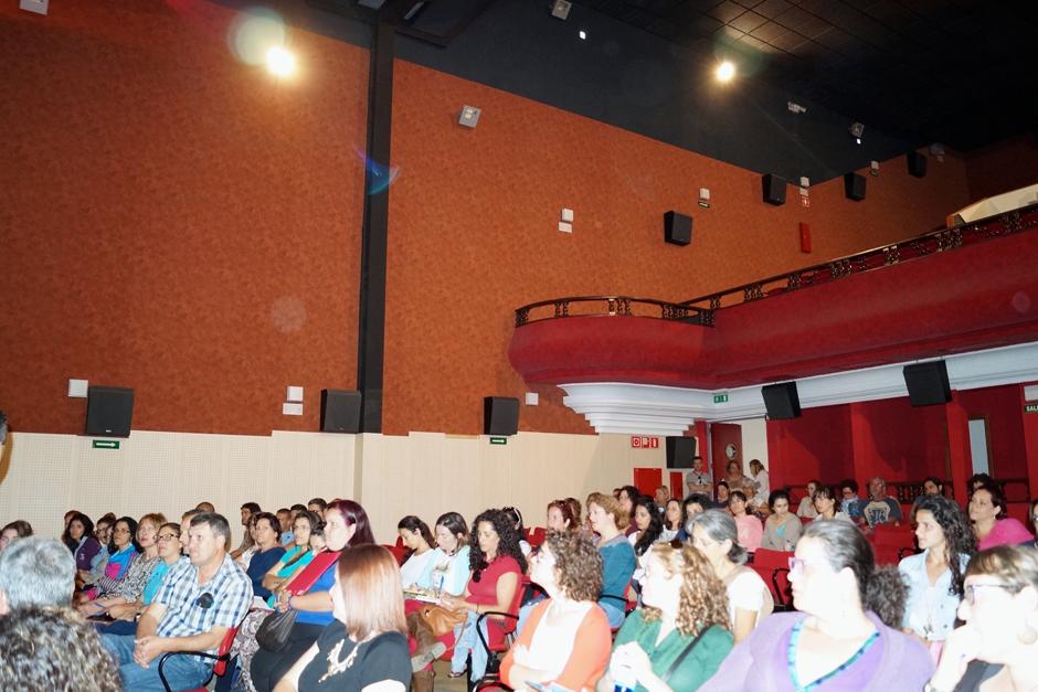 Público de las jornadas en el Centro Cultural Guaires.