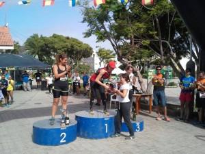 """podio femenino. Foto: facebook """"Barrial de Gáldar"""""""