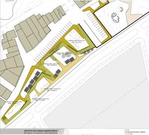 Plano de la Plaza de El Agujero.