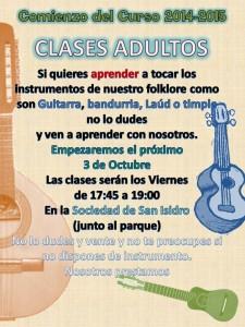cartel clases harimaguadas