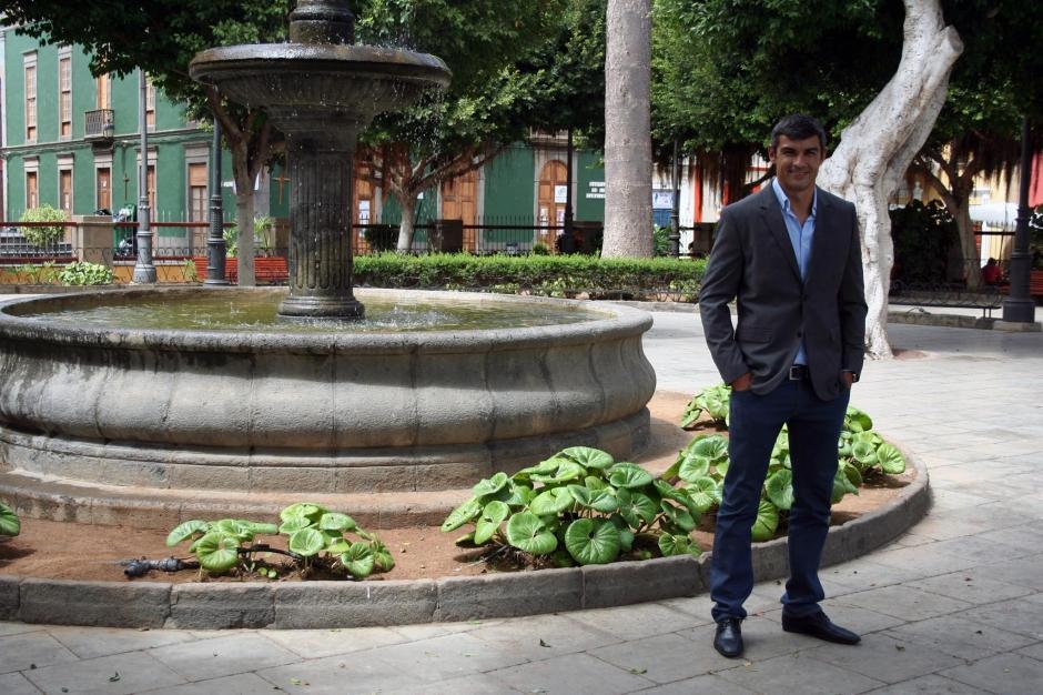 Juan Jesús Moreno, candidato socialista a la alcaldía de Gáldar.