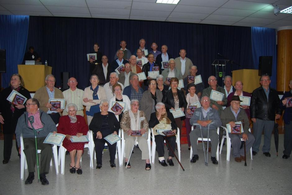 Imagen de los homenajeados. Foto: Pepi Domínguez.