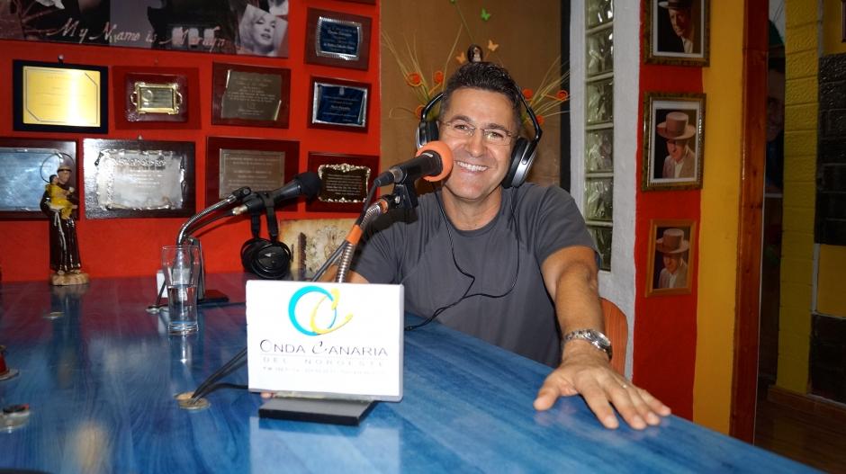Antonio Díaz, gerente y propietario de Onda Canaria durante la entrevista.