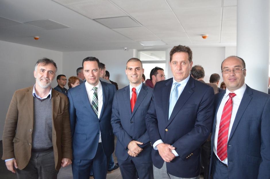 Fotografía publicada en el Facebook del PP de Gáldar congratulándose del éxito del proyecto del Parque Científico Tecnológico.