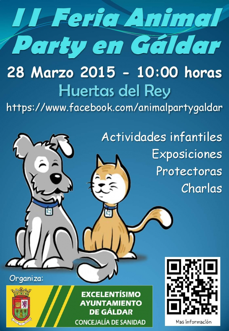 Cartel de la II Animal Party (ampliar para ver correctamente).