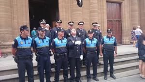 Félix Vega junto a sus compañeros.