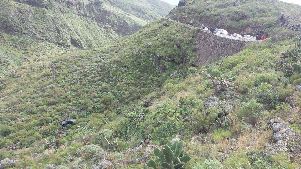 Accidente en Hoya de Pineda