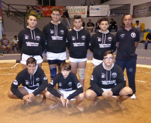 CL Castro Morales cadete, finalista Liga Cabildo Lucha Canaria de GranC Canaria 2016