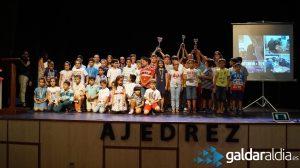 Clausura temporada de ajedrez122