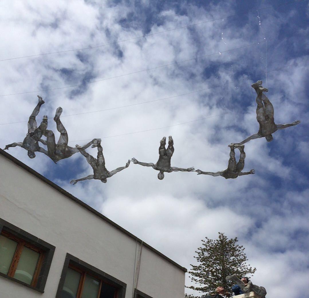 Escultura Ícaro 7