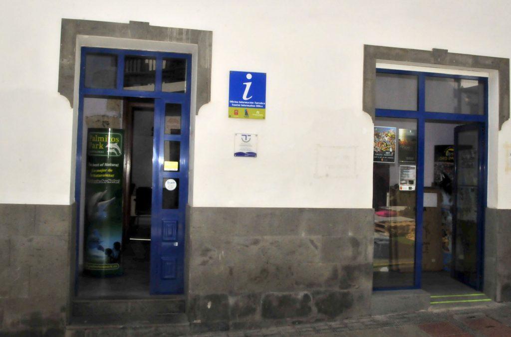 La oficina de informaci n tur stica de agaete recibe for Oficina de informacion turistica