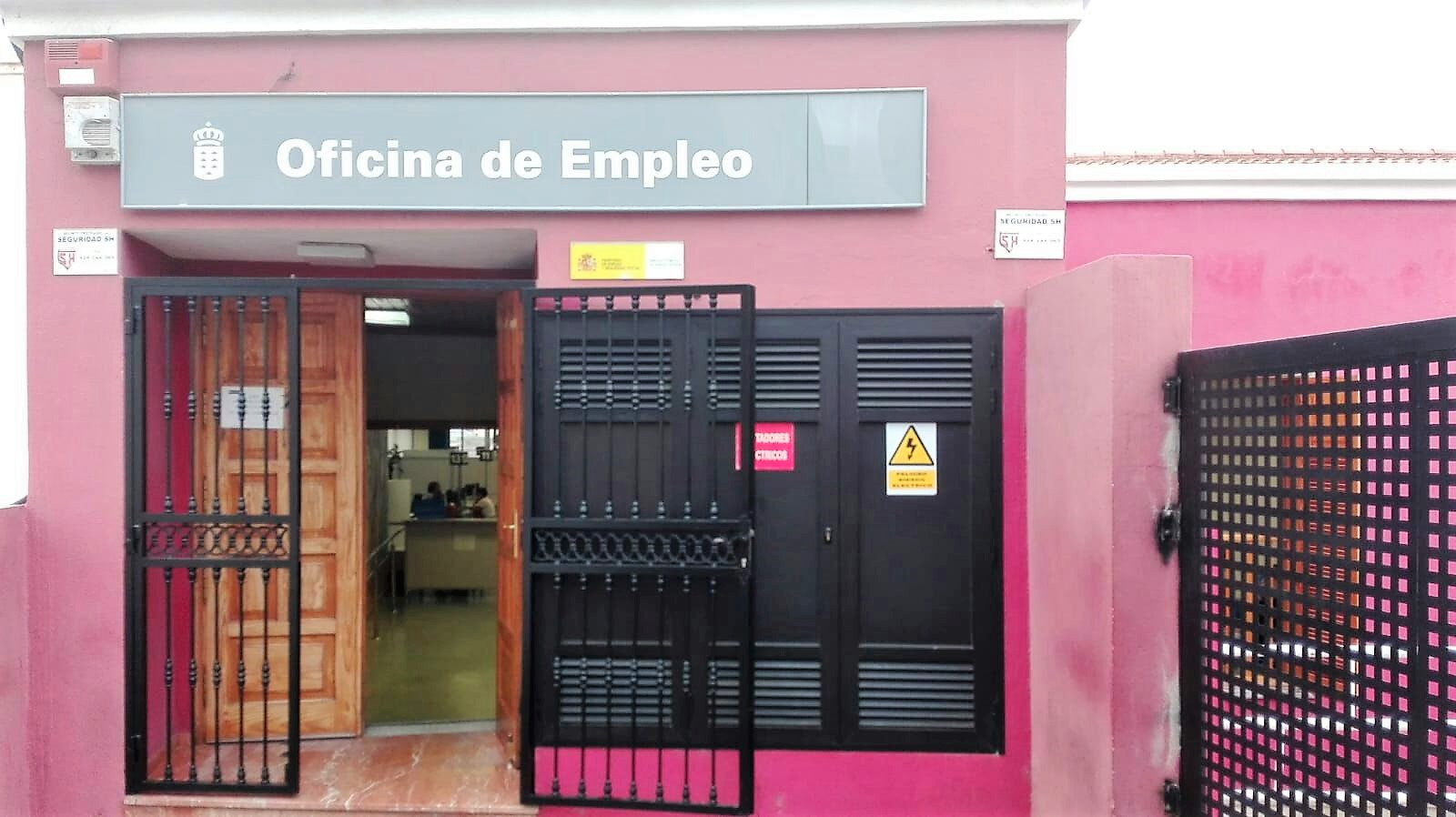 La oficina de empleo de g ldar registra el menor ndice de for Oficina empleo canarias